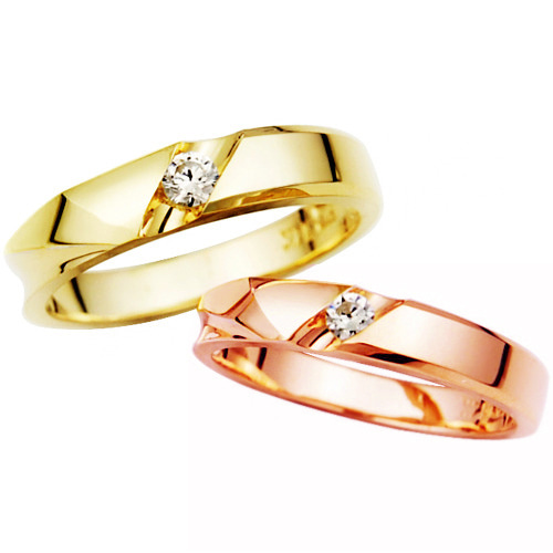 CS69414 카라민 Yellow & Pink Gold