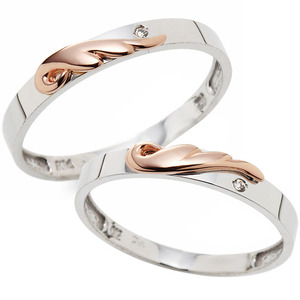 CS03907 엔젤 White & Pink Gold
